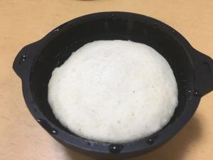 シリコンスチーマーで作るたまご抜きの蒸しパン