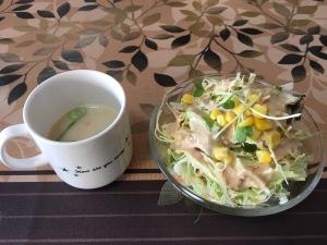 インド料理シナモン サラダ スープ